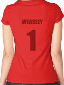 Weasley 1 Top Women's Fitted Scoop T-Shirt