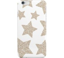 Christmas five-pointed stars iPhone Case/Skin