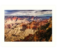 From the Rim into the Canyon Art Print