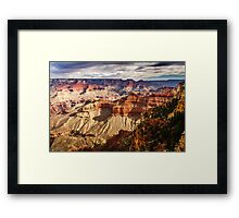 From the Rim into the Canyon Framed Print