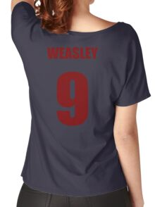 Weasley 9 Top Women's Relaxed Fit T-Shirt