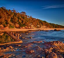 Aslings Beach in Eden by renekisselbach