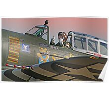 Thumbs Up !! - Duxford 26.05.2013 Poster