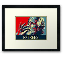 Tommy Chong - R/Trees Framed Print