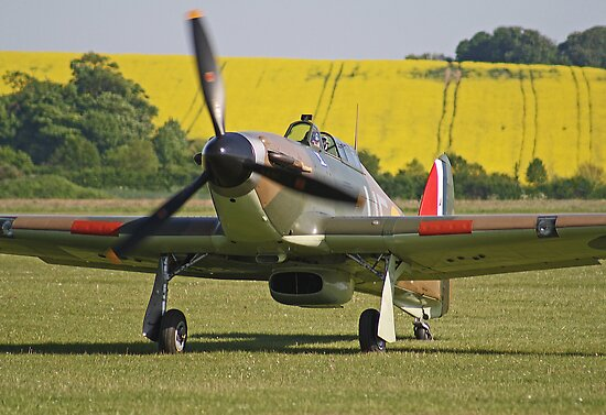 Paul Bonhomme In The Hurricane - Duxford 26.05.2013 by Colin J Williams Photography