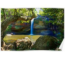 Khao Yai waterfall Poster