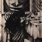 """She seemed imprisoned in her sadness"" by John Dicandia  ( JinnDoW )"