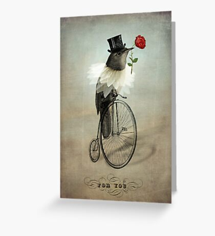 The Groom Greeting Card