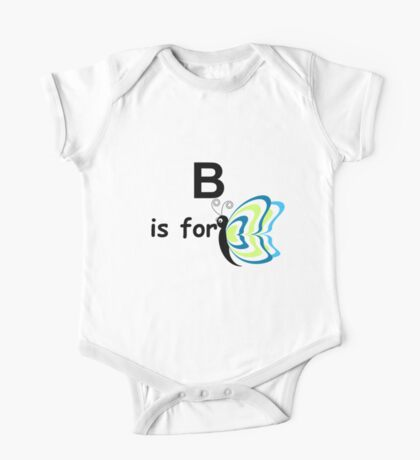 B is for... V4 One Piece - Short Sleeve