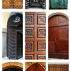 Doors Of Prague by aRj Photo