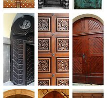 Doors Of Prague by aRj Photo