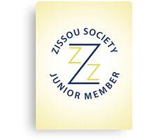 Zissou Society Junior Member Canvas Print
