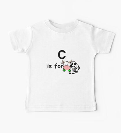 C is for ...V5 Baby Tee