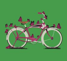 Butterfly Bicycle Kids Tee