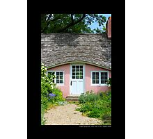 Pink Play House - Planting Fields Arboretum State Historic Park - Upper Brookville, New York Photographic Print