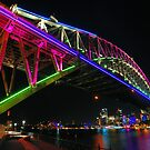 Vivid Sydney | Harbour Bridge | 2013 by Bill Fonseca