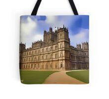 Downton Abbey Digital Art Tote Bag