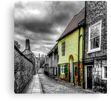 Mews Cottage York Canvas Print