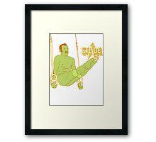 Mr. Oizo - Stade 3 Framed Print