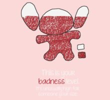 This is your badness level Baby Tee
