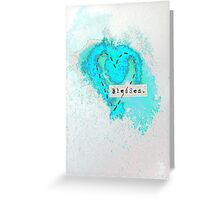 Blessed Heart Greeting Card