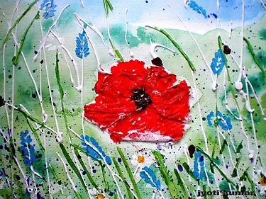 POPPY GLORY by jyoti kumar