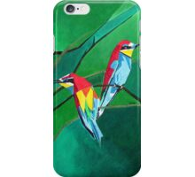 Brightly Colored European Bee-eaters iPhone Case/Skin