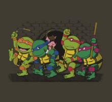 Where the wild turtles are by TeeKetch