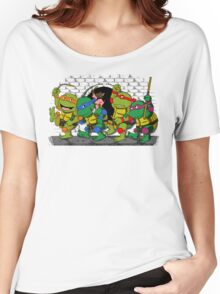 Where the wild turtles are Women's Relaxed Fit T-Shirt