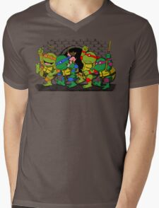 Where the wild turtles are Mens V-Neck T-Shirt