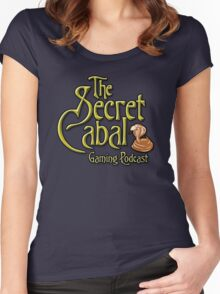 The Secret Cabal Gaming Podcast Tee Shirt Women's Fitted Scoop T-Shirt
