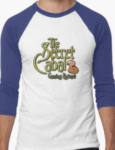 The Secret Cabal Gaming Podcast Tee Shirt Men's Baseball ¾ T-Shirt