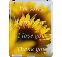 Ho'Oponopono iPad Case/Skin