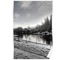 Morning by the River Tay Poster