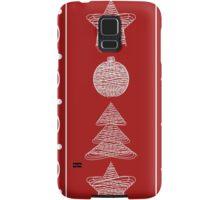 garland of Christmas toys Samsung Galaxy Case/Skin