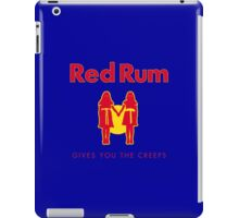 REDRUM gives you the creeps! (red) iPad Case/Skin