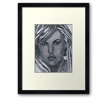 Charlize Theron Framed Print