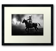 Cavalry Charge Framed Print