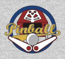 Pinball Logo One Piece - Short Sleeve