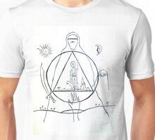 The Alchemist -  Cover Line Art Unisex T-Shirt