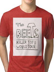 THE BEETS - Killer Tofu Design Tri-blend T-Shirt