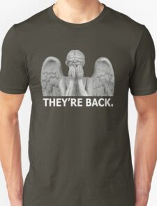 Doctor Who | Weeping Angel (White) T-Shirt