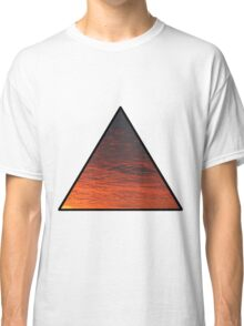 Sunset Triangle  Classic T-Shirt
