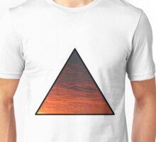 Sunset Triangle  Unisex T-Shirt
