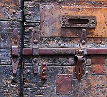 Rusty gate, Rome, Italy by buttonpresser