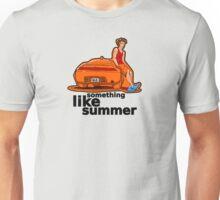 Something Like Summer - Light colors / Black text Unisex T-Shirt