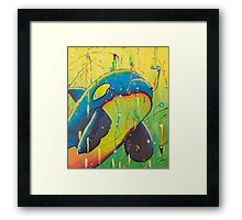 The Universal Orca Framed Print