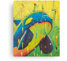 The Universal Orca Canvas Print