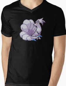 Shiny Ninetales Mens V-Neck T-Shirt
