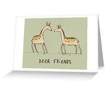 Dear Friends Greeting Card